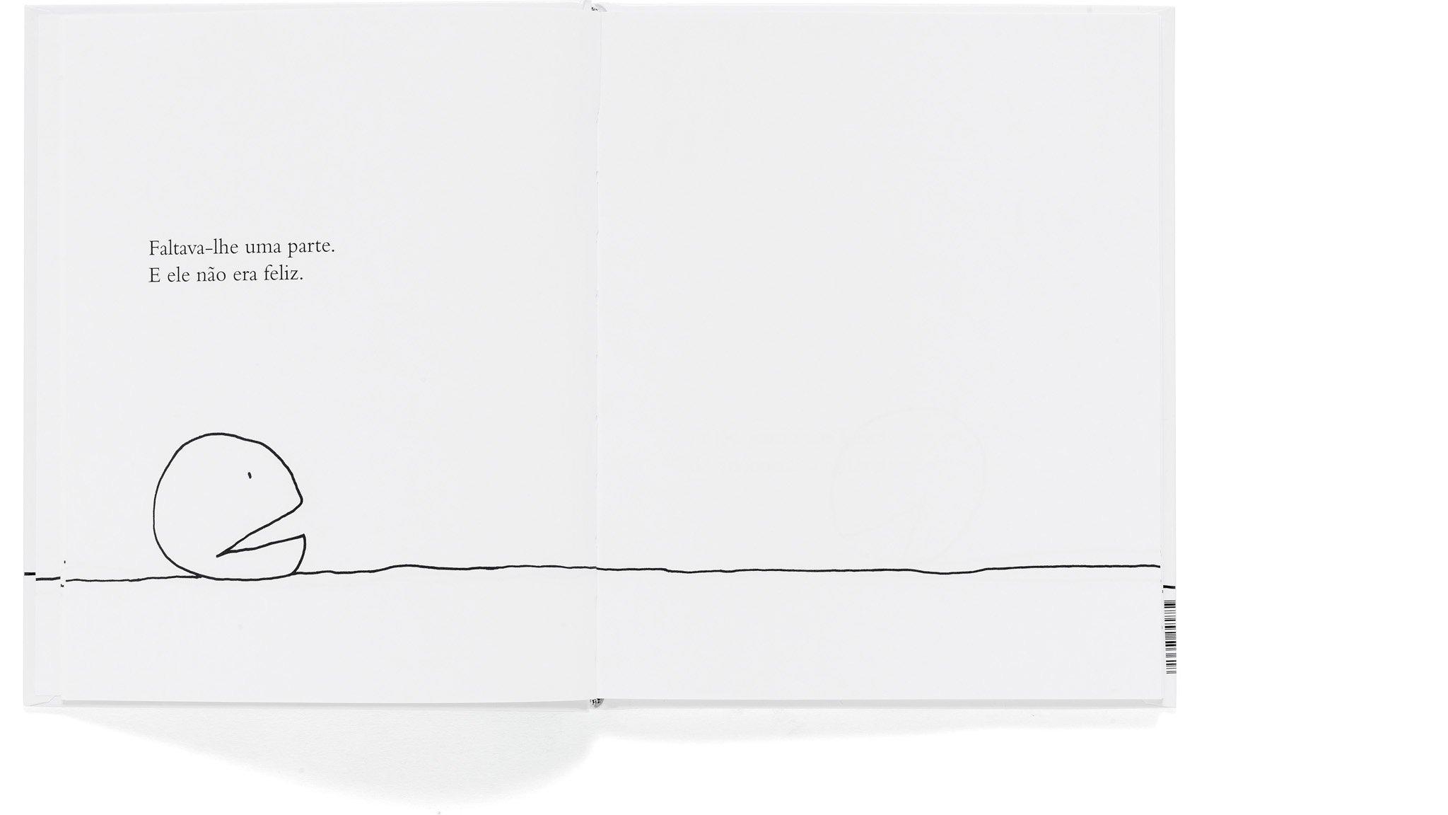 """Página do livro """"A Parte que Falta"""" (Foto: Reprodução/Amazon)"""