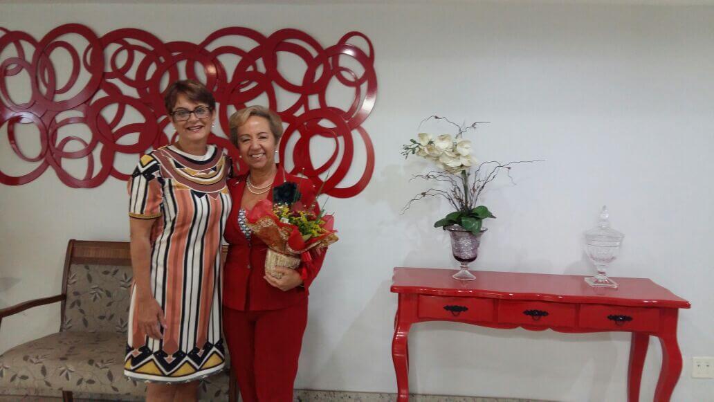 Izabela Capovilla e Rosária Paraíso: reencontro (Foto: Saulo Duarte)